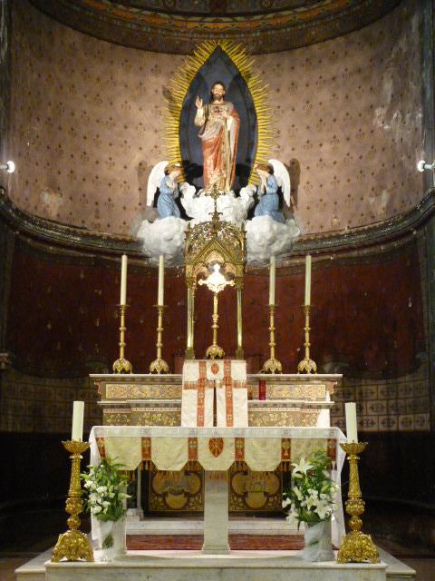 Autel Eglise Puget-Ville