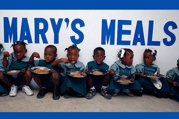 14,50 € pour donner à manger à 1 enfant pendant 1 année