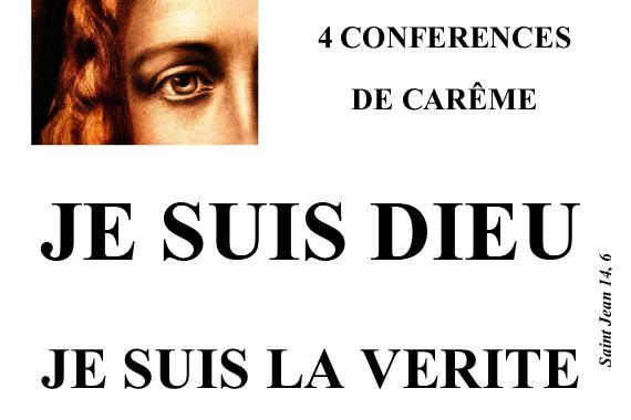 Conférences de Carême